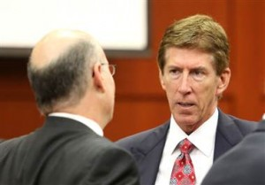 Joe Burbank / Pool via Getty Images file The Florida bar is investigating a complaint against Mark O'Mara.